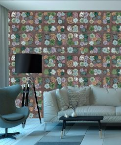 Geophyte wall mural from HD Walls Biophilic Design Collection