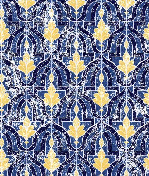 Estella Admiral Sun blue and yellow wallpaper from HD Walls