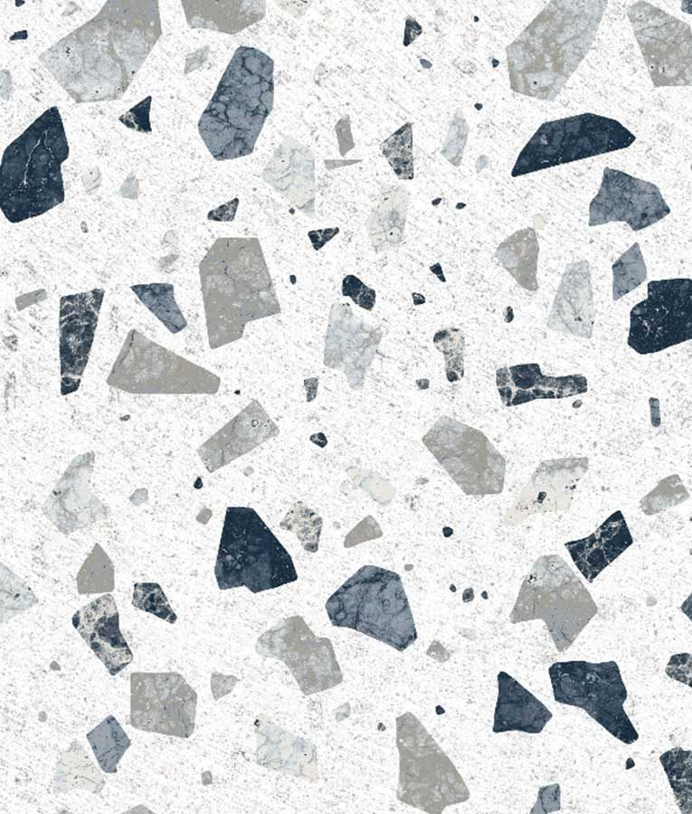 Stone Colored Terrazzo wallpaper pattern