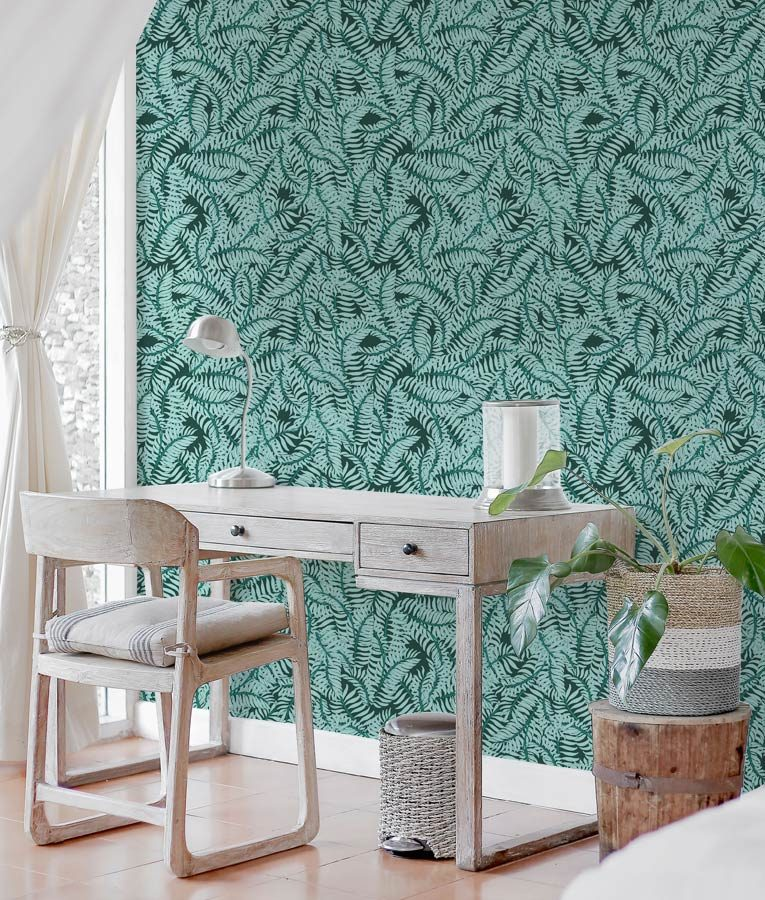 Fern patterned Florina wallpaper from HD Walls