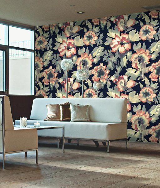 HD floral wallpaper print