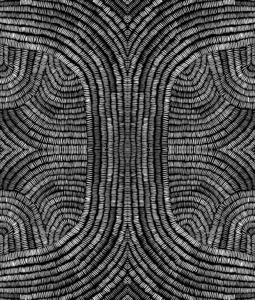 Black and white wall paper pattern
